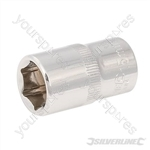 "Socket 1/2"" Drive 6pt Metric - 15mm"
