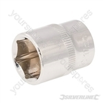 "Socket 3/8"" Drive 6pt Metric - 17mm"