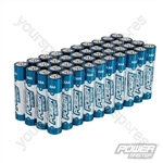 AAA Super Alkaline Battery LR03 40pk - 40pk