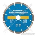 Concrete & Stone Cutting Diamond Blade - 150 x 22.23mm Segmented Rim