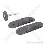 Rotary Tool Cutting Disc Set 36pce - 22mm Dia