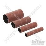 Aluminium Oxide Sanding Sleeves 4pce - TSPSS240G4PK Sanding Sleeves 4pce 240G