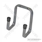 Universal Double Arm Storage Hooks - 70mm Small