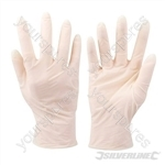 Disposable Latex Gloves 100pk - Extra Large