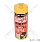 Carpet & Upholstery Tough Wipes 40pk - 40pk