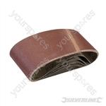 Sanding Belts 75 x 457mm 5pk - 120 Grit