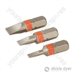 S2 Screwdriver Bit Set 3pce - SL3, SL4.5 & SL6.5