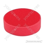 Hook & Loop Foam Polishing Head - 150mm Ultra-Soft Red