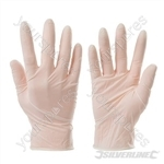 Disposable Latex Gloves 100pk - Medium