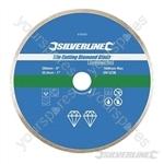 Tile Cutting Diamond Blade - 200 x 25.4mm Continuous Rim