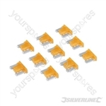 ATT Low Profile Mini Automotive Blade Fuses 10pk - 5A Tan
