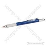 Aluminium 6-in-1 Tool Pen - 148mm