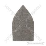 Hook & Loop Mesh Triangle Sheets 175 x 105mm 10pk - 80 Grit