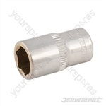 "Socket 1/4"" Drive 6pt Metric - 9mm"