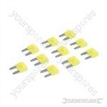 ATM Automotive Mini Blade Fuses 10pk - 20A Yellow
