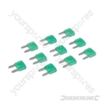 ATM Automotive Mini Blade Fuses 10pk - 30A Green