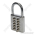 Digital Combination Padlock 10-Digit - 38mm