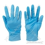 Disposable Nitrile Gloves Powder-Free 100pk - Blue Medium