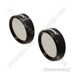 Convex Blind Spot Mirrors 2pk - 2pk
