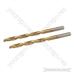 HSS Titanium-Coated Drill Bits 2pk - 4.5mm