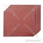 Emery Cloth Sheets 10pk - 80 Grit