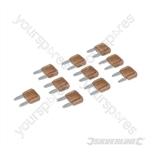 ATM Automotive Mini Blade Fuses 10pk - 7.5A Brown