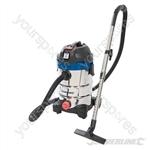 1250W Wet & Dry Vacuum Cleaner 30Ltr - 1250W UK