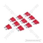 ATO Regular Automotive Blade Fuses 10pk - 10A Tan