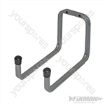 Universal Double Arm Storage Hooks - 180mm Medium
