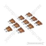 ATO Regular Automotive Blade Fuses 10pk - 7.5A Brown