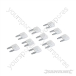 ATM Automotive Mini Blade Fuses 10pk - 25A Clear