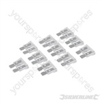 ATO Regular Automotive Blade Fuses 10pk - 25A Clear