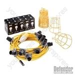 LED Festoon Kit 22m - 110V 100W
